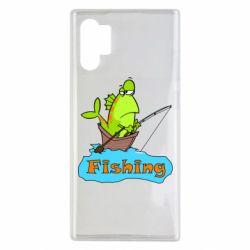 Чехол для Samsung Note 10 Plus Fish Fishing