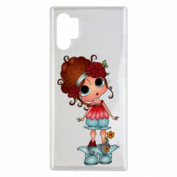 Чехол для Samsung Note 10 Plus Girl with big eyes