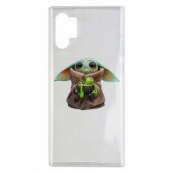 Чохол для Samsung Note 10 Plus Grogu and Kermit