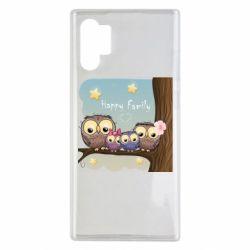 Чехол для Samsung Note 10 Plus Happy family