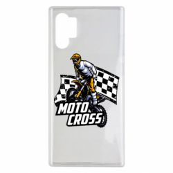 Чехол для Samsung Note 10 Plus Motocross