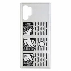 Чохол для Samsung Note 10 Plus Mountain sun