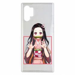 Чохол для Samsung Note 10 Plus Nezuko