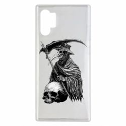 Чехол для Samsung Note 10 Plus Plague Doctor graphic arts