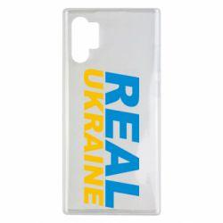 Чехол для Samsung Note 10 Plus Real Ukraine