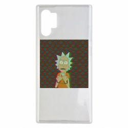 Чехол для Samsung Note 10 Plus Rick Fck Hologram