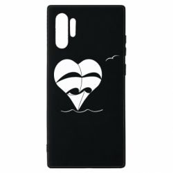 Чехол для Samsung Note 10 Plus Ship and heart
