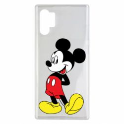 Чехол для Samsung Note 10 Plus Smiling Mickey