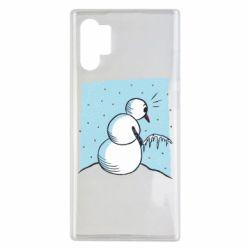 Чохол для Samsung Note 10 Plus Snowman. It's Cold!