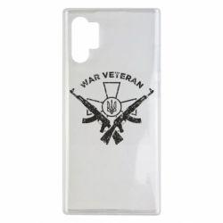 Чохол для Samsung Note 10 Plus Veteran machine gun