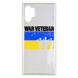 Чохол для Samsung Note 10 Plus War veteran