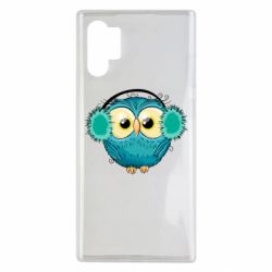Чехол для Samsung Note 10 Plus Winter owl