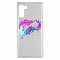 Чохол для Samsung Note 10 Sisu Water Dragon