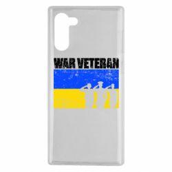 Чохол для Samsung Note 10 War veteran