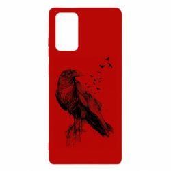 Чохол для Samsung Note 20 A pack of ravens
