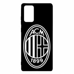 Чохол для Samsung Note 20 AC Milan logo