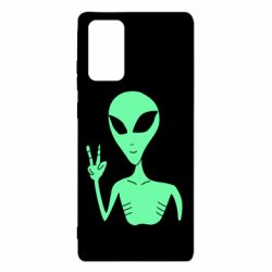 Чехол для Samsung Note 20 Alien and two fingers