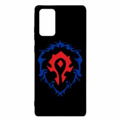 Чехол для Samsung Note 20 Alliance and horde two in one