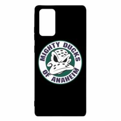 Чехол для Samsung Note 20 Anaheim Mighty Ducks Logo