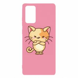 Чехол для Samsung Note 20 Angry red cat