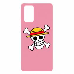 Чохол для Samsung Note 20 Anime logo One Piece skull pirate