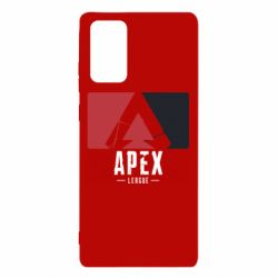 Чехол для Samsung Note 20 Apex red-black