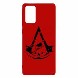 Чехол для Samsung Note 20 Assassin's Creed and skull 1
