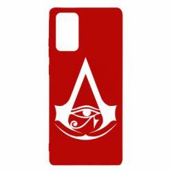 Чохол для Samsung Note 20 Assassin's Creed Origins logo