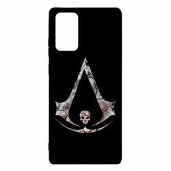 Чехол для Samsung Note 20 Assassins Creed and skull