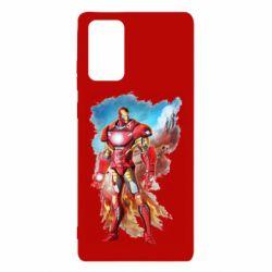 Чохол для Samsung Note 20 Avengers iron man drawing