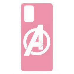 Чохол для Samsung Note 20 Avengers logo