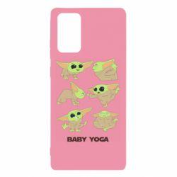 Чехол для Samsung Note 20 Baby Yoga
