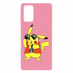 Чохол для Samsung Note 20 Back to the Future Marty McFly Pikachu