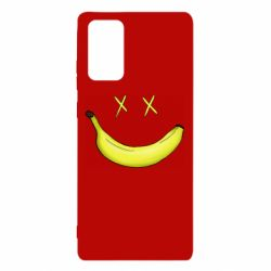 Чехол для Samsung Note 20 Banana smile