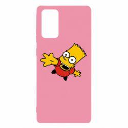 Чехол для Samsung Note 20 Барт Симпсон
