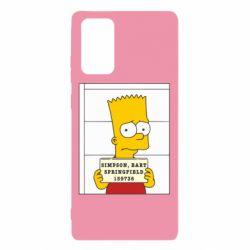 Чехол для Samsung Note 20 Барт в тюряге