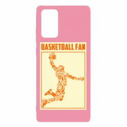 Чохол для Samsung Note 20 Basketball fan