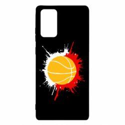 Чехол для Samsung Note 20 Баскетбольный мяч