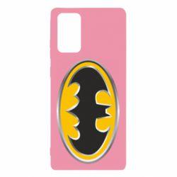 Чехол для Samsung Note 20 Batman Gold Logo