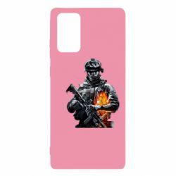 Чехол для Samsung Note 20 Battlefield Warrior