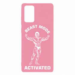 Чехол для Samsung Note 20 Beast mode activated