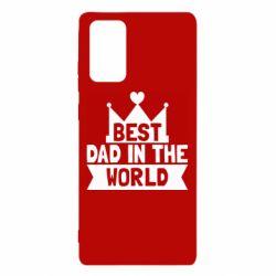 Чехол для Samsung Note 20 Best dad in the world