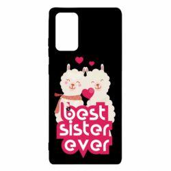 Чохол для Samsung Note 20 Best sister ever