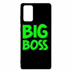 Чехол для Samsung Note 20 Big Boss