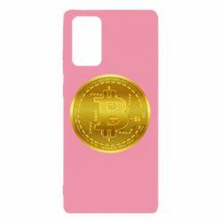 Чохол для Samsung Note 20 Bitcoin coin