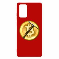 Чохол для Samsung Note 20 Bitcoin Hammer