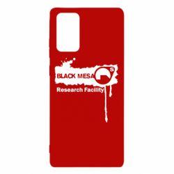 Чехол для Samsung Note 20 Black Mesa