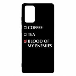 Чохол для Samsung Note 20 Blood of my enemies