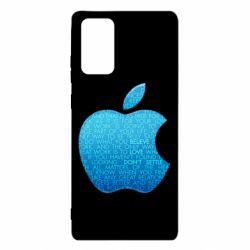 Чехол для Samsung Note 20 Blue Apple