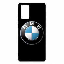 Чехол для Samsung Note 20 BMW Logo 3D